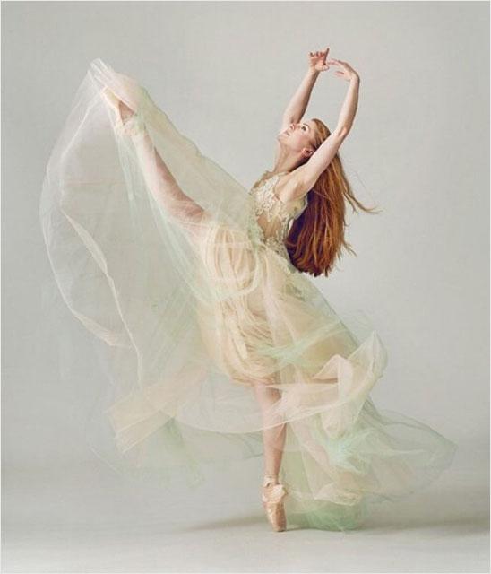 现代芭蕾舞表演